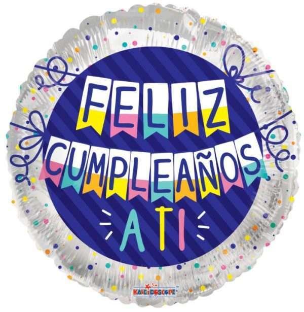 Globo Mylar Feliz Cumpleaños