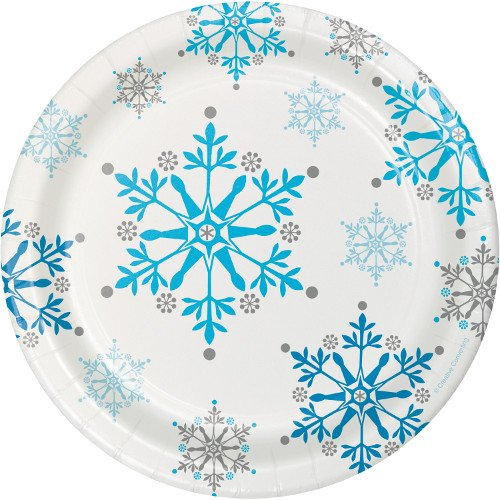 Plato de Cartón Snow Princess