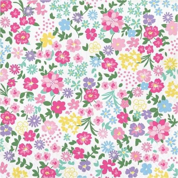 Servilleta de Flores