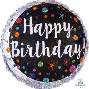 Globo Mylar Happy Birthday