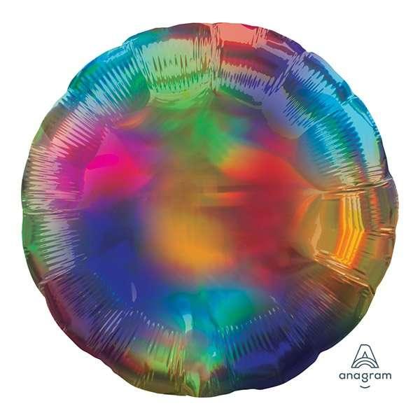 Globo Mylar Multicolor Iridicente