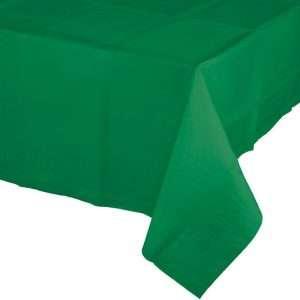 Mantel de Plástico Verde Oscuro