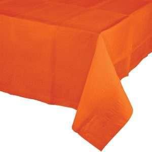 Mantel de Plástico Naranja