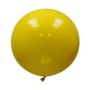 Globo Gigante Amarillo Pastel