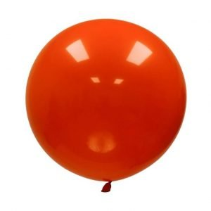 Globo Gigante Naranja Decorativo