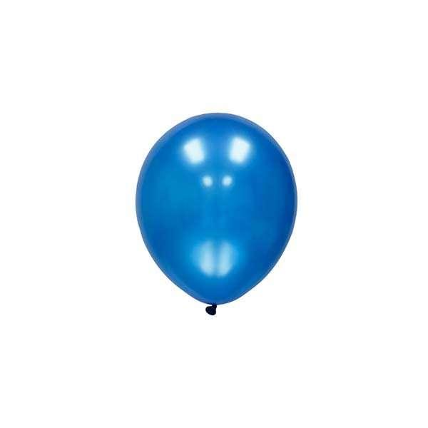 Globo Mini Azul Metalico