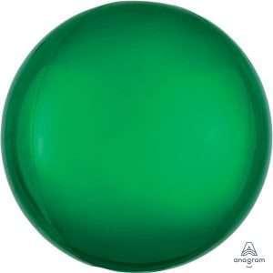 Globo Mylar Orbz Verde