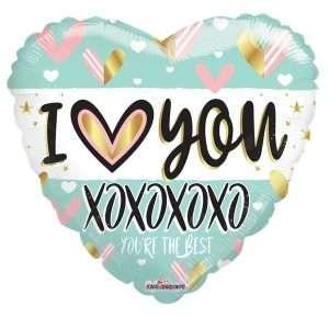 Globo Mylar Love XoXo