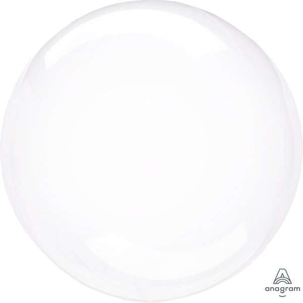 Globo Mylar Burbuja Transparente