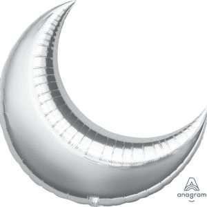 Globo Mylar Luna Plateada