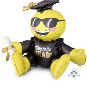 Globo Mylar Sitting Grad