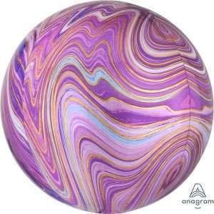 Globo Orbz Purple Marblez