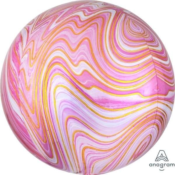 Globo Orbz Pink Marblez