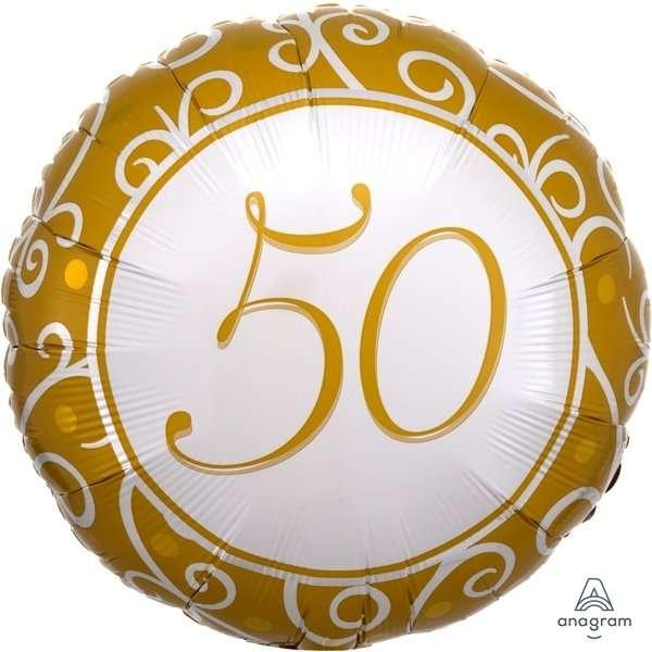 Globo Mylar 50 Dorado