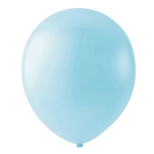 Globo Macarron Mora Azul