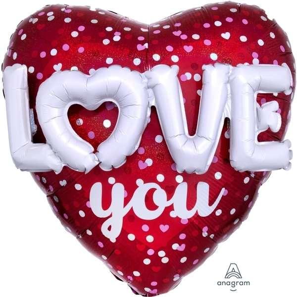 Globo Mylar Love You