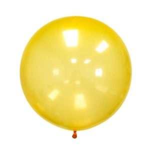 Globo Gigante Burbuja Amarillo