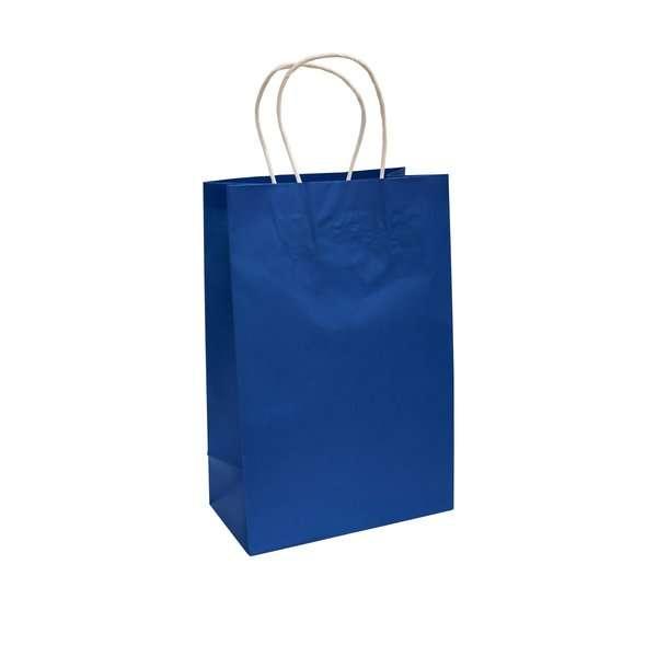 Bolsa de Papel Azul Marino