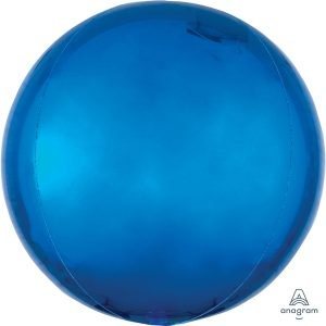 Globo Mylar Orbz Azul